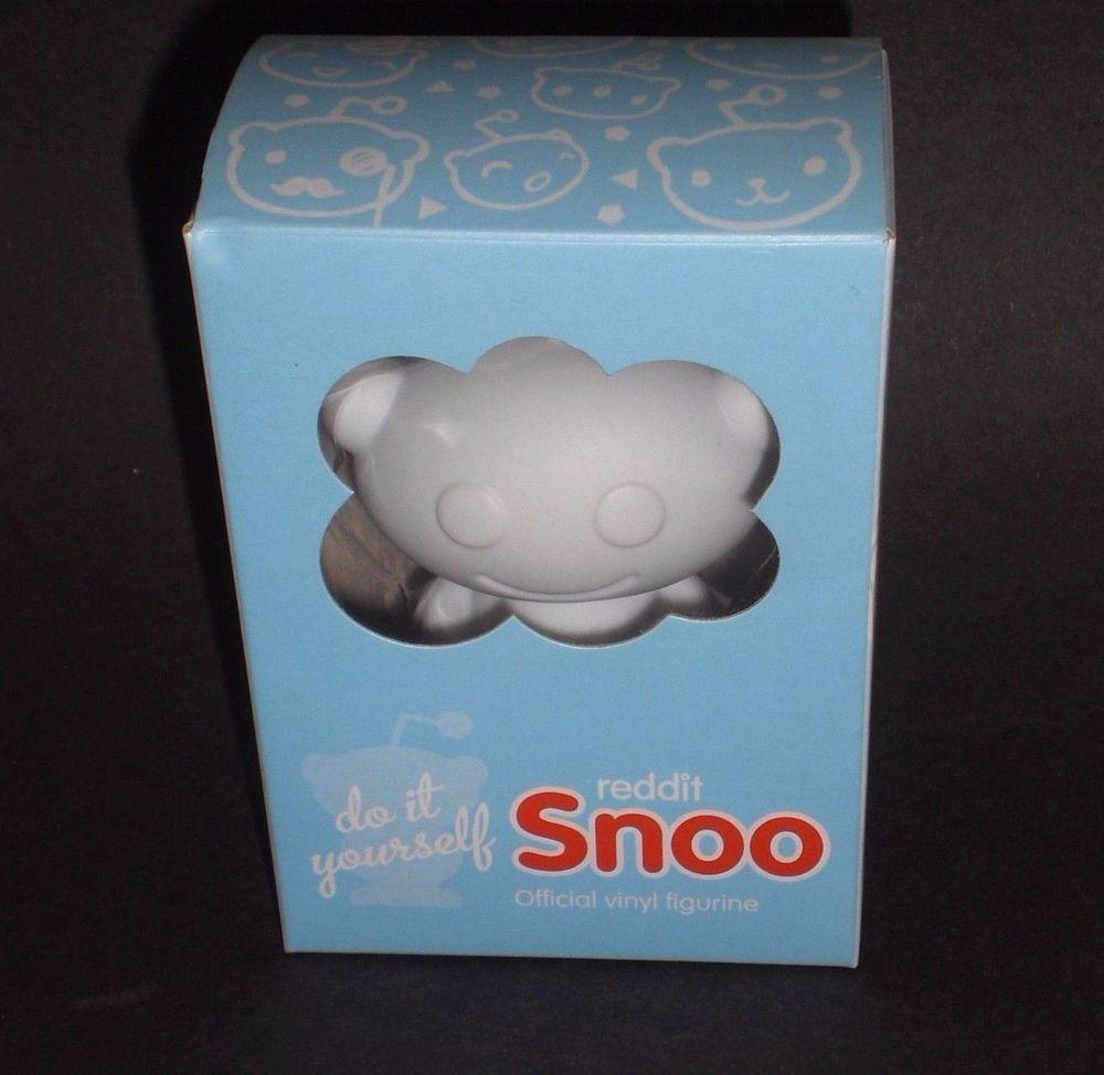 Reddit Snoo Official Vinyl Figurine Toy Figure Alien Diy New Redit