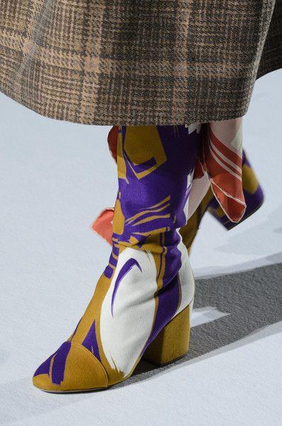 Dries Van Noten at Paris Fashion Week Spring 2018 - The Most Daring Runway Shoes at Paris Fashion Week - Photos