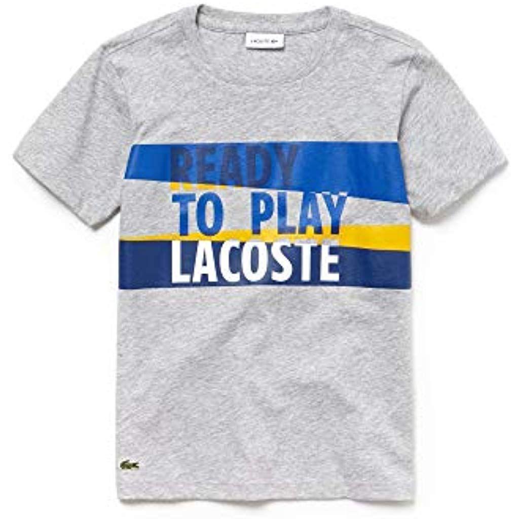 4ef8dd1e53 Lacoste T- Shirt Garçon #t-shirtsbedrucken #t-shirts #t-shirtsherren ...