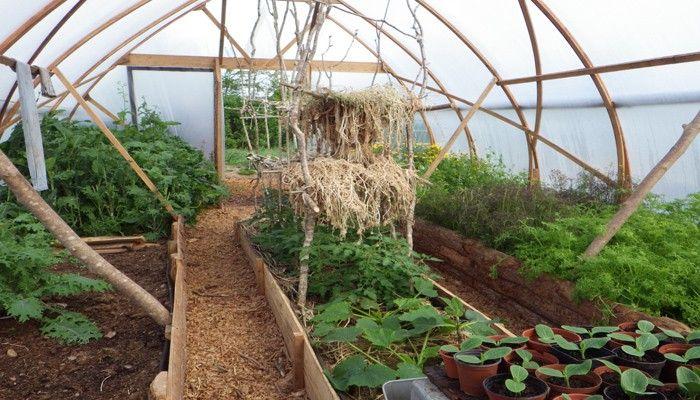 Les Robinson de la permaculture | Idees jardin | Serre ...