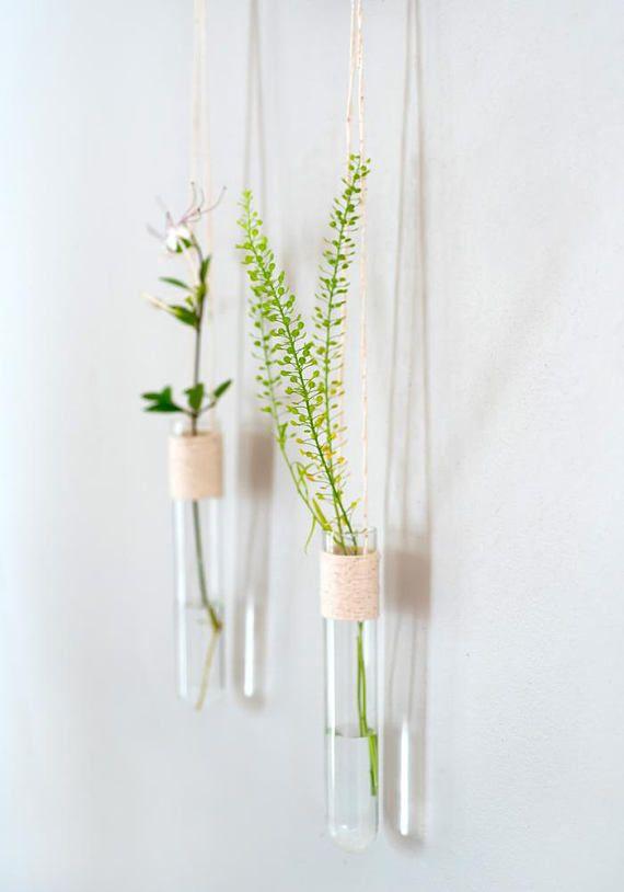 Wall Flower Vase Room Wall Decor Hanging Wall Vase Decorative Vase Glass Cylinder Vase Wholesal Wall Flower Vases Hanging Wall Vase Flower Vase Diy