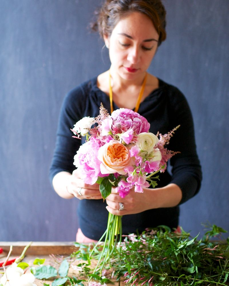 DIY Bouquet Tutorial with Tulipina