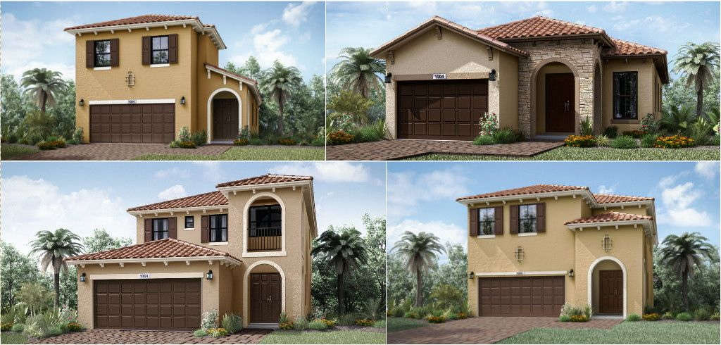 South Florida Top Home Builder New Homes In Broward And Palm Beach Florida Living Home Builders House Styles