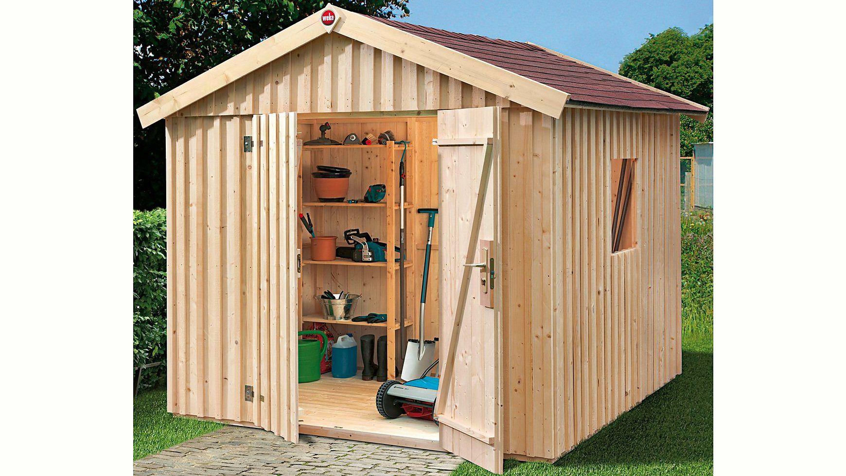 Produktdetailskonstruktion Elementbauweise Materialmaterial Holz Holzart Fichte Ausstattunganza Ottobaumarkt Weka Gartenhaus Gartenhaus Gartenhaus Holz