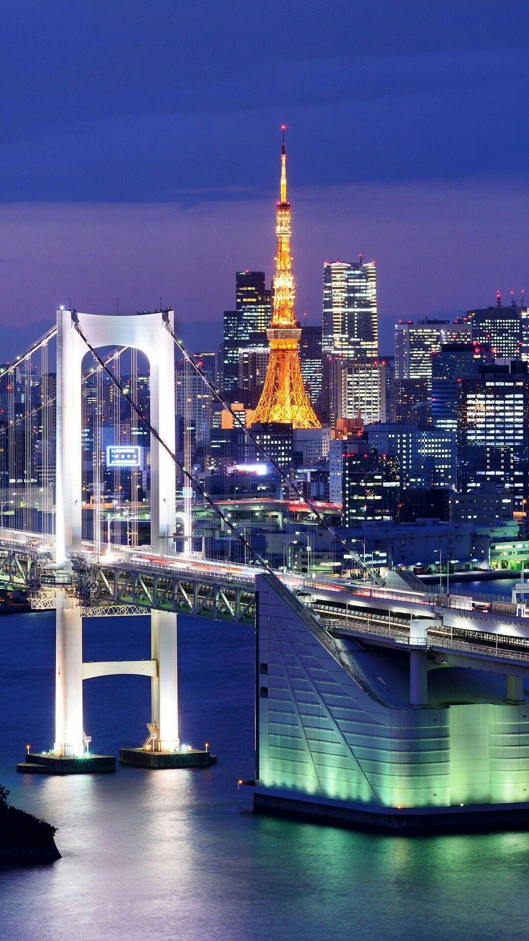 Tokyo Japan 東京 風景 都内 夜景 東京タワー