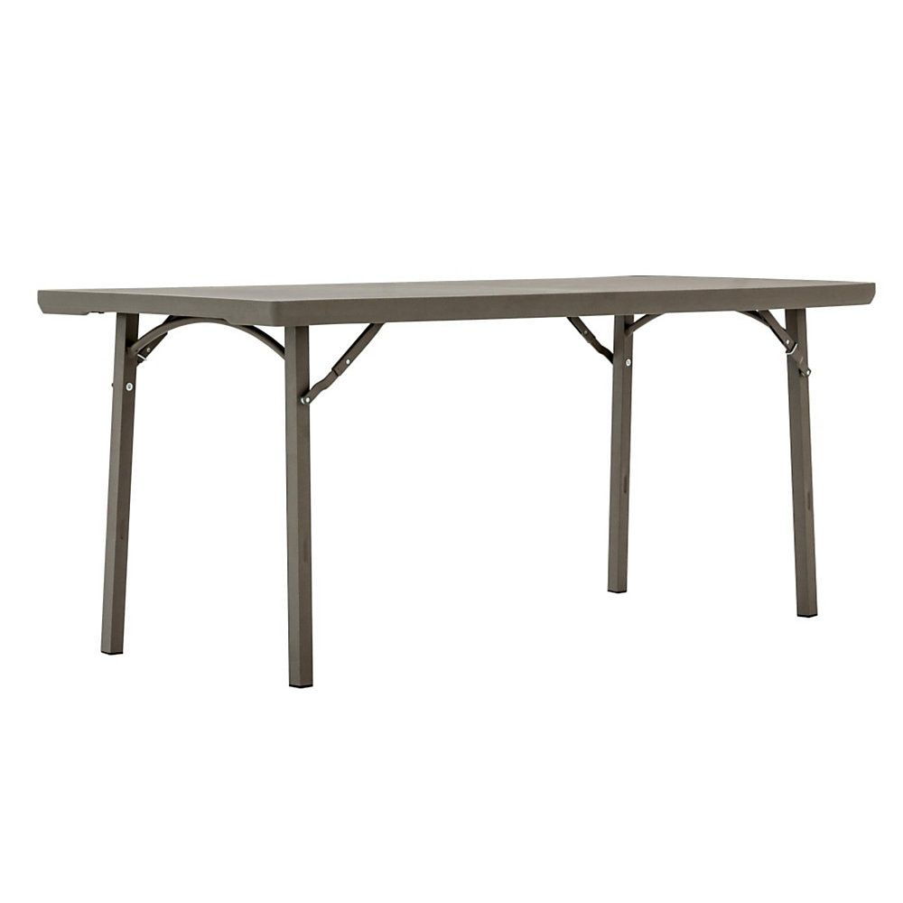 Cosco Folding Table Rectangle 30 H X 72 W Brown Item 908291 Folding Table Table Cosco