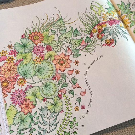 Secret Garden Coloring Anne S Art Coloring In 2018