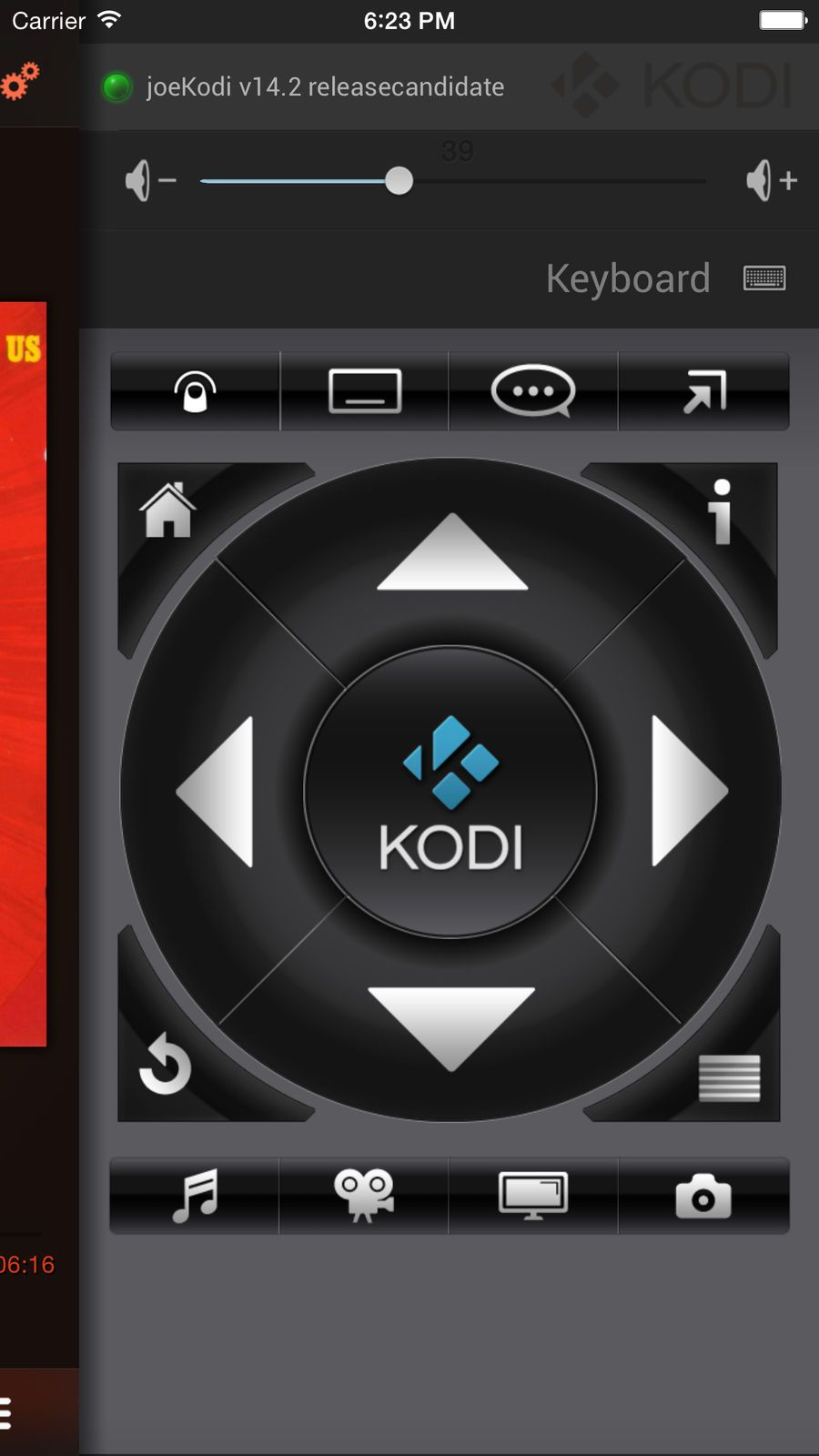 Official Kodi Remote #ios#Utilities#app#apps | game design