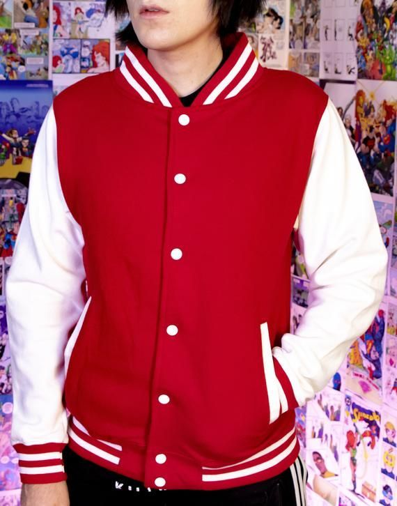 Pokemon Sword and Shield Scorbunny Varsity Jacket #varsityjacketoutfit Pokemon Sword and Shield Scorbunny Varsity Jacket #varsityjacketoutfit