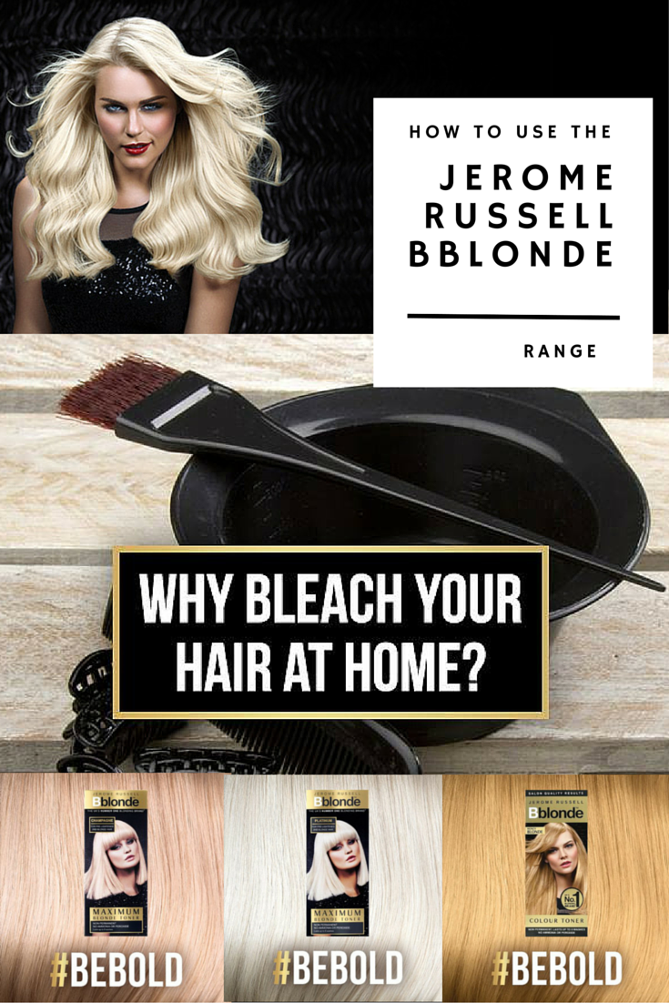 Beautiful shimmering blonde home hair dyes in a range of strengths
