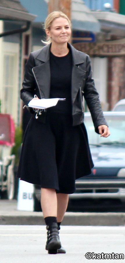 """Jennifer Morrison - 6 * 6 """" Dark Waters"""" - Behind the scenes - 7 September 2016"""