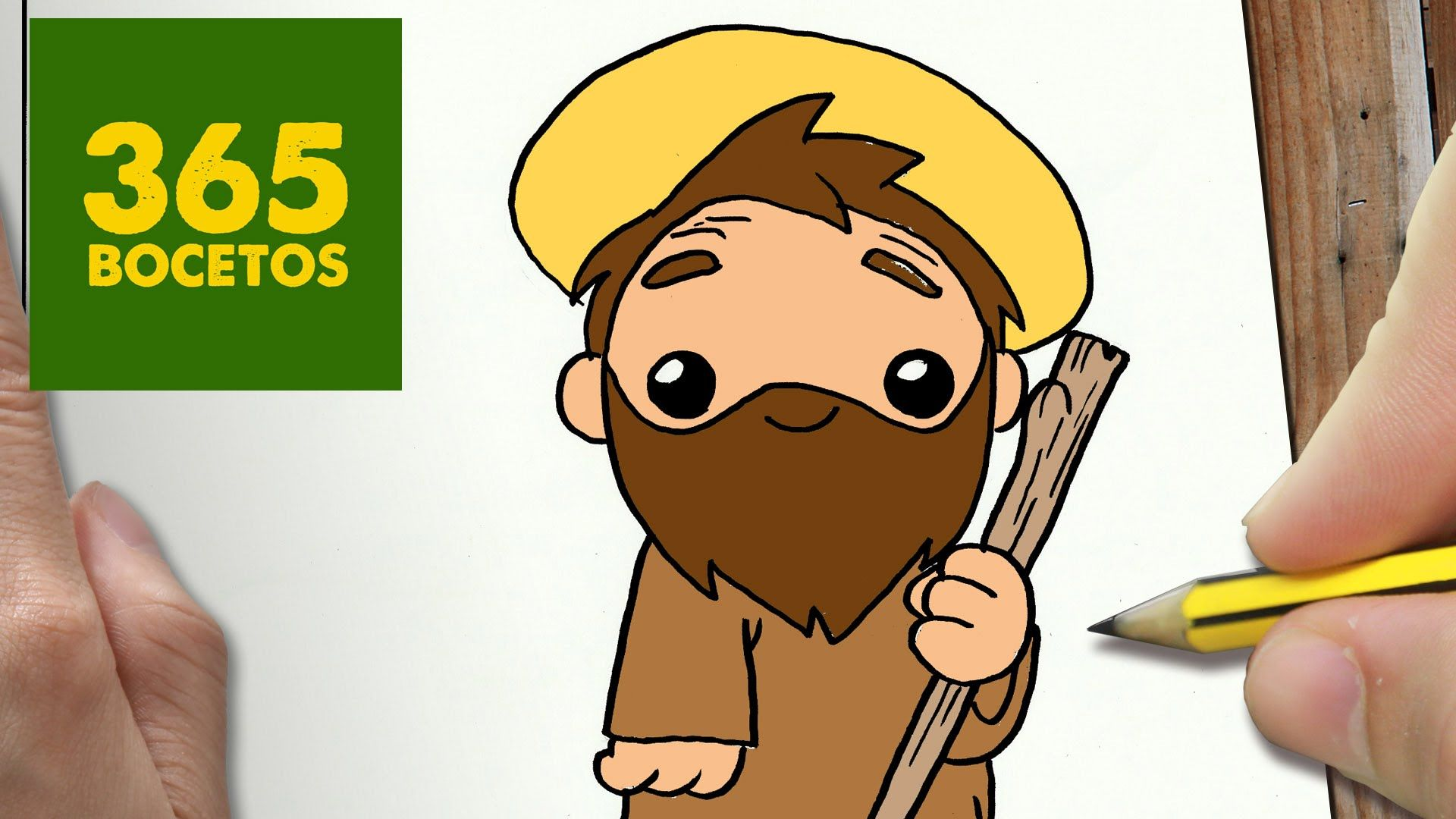 Papa Adoptivo De Jesus Dibujos Kawaii Dibujos Kawaii