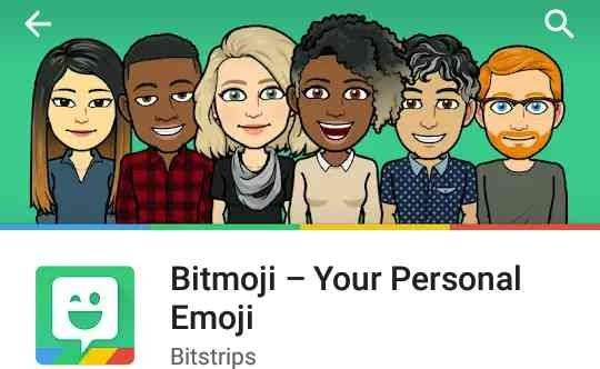 Bitmoji скачать на компьютер