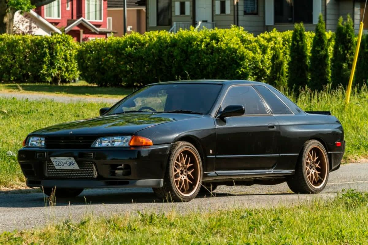 Check out this 1990 nissan skyline gt r for throwbackthursday tbt