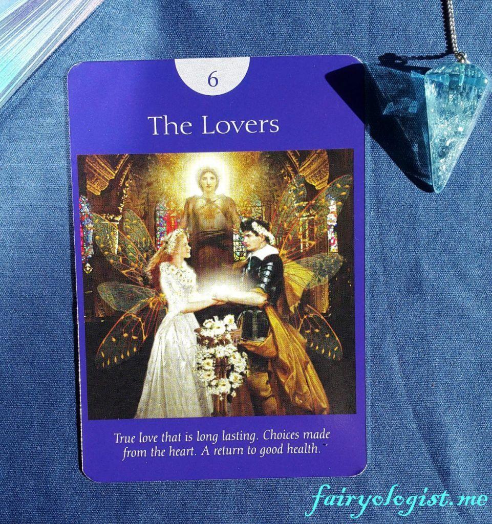 Daily fairy message cool designs tarot fairy