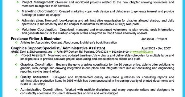 Outstanding Details You Must Put In Your Awesome Bartending Resume - project assistant resume
