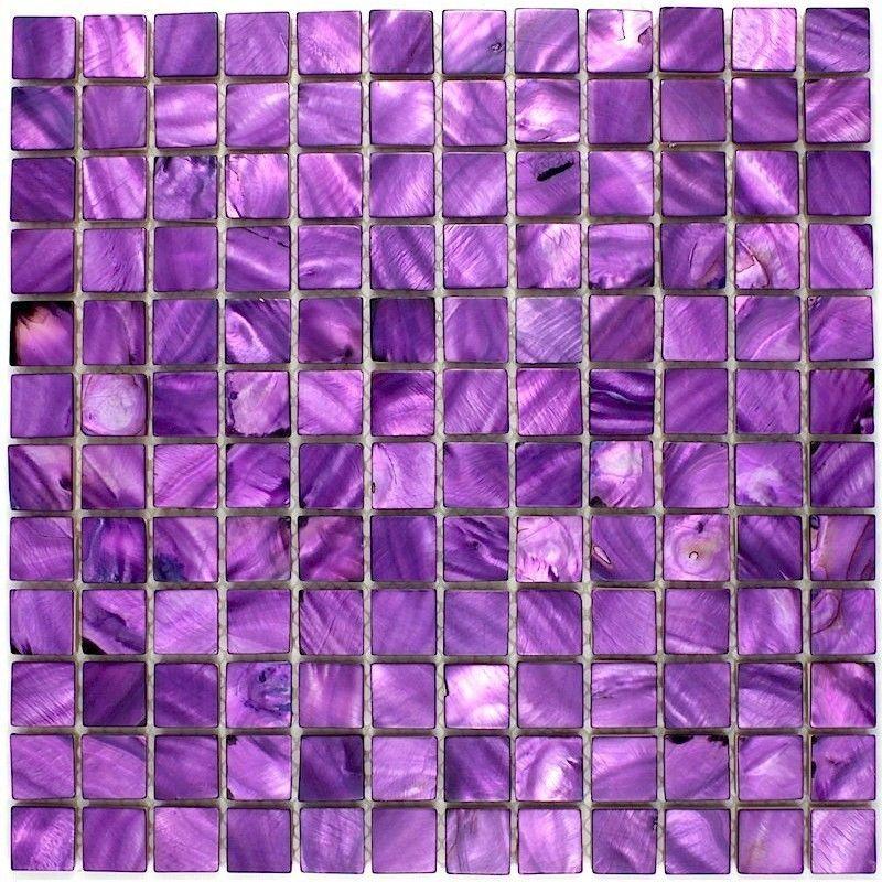 Mosaique De Nacre Nacre Violet 23 Mozaiek Badkamer Mozaiek