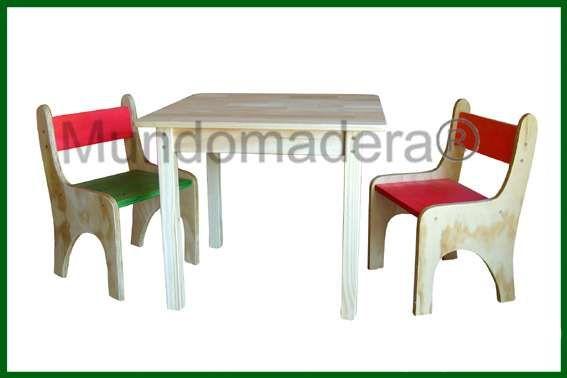 Resultado de imagen para muebles de madera infantiles | Mesas ...
