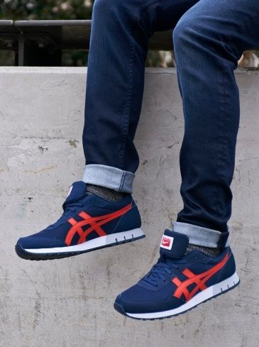 Curreo Onitsuka Tiger- Red trainers