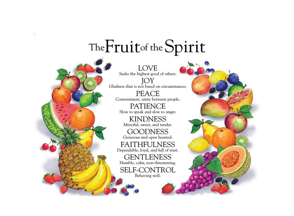 Image result for images of the fruits of the holy spirit