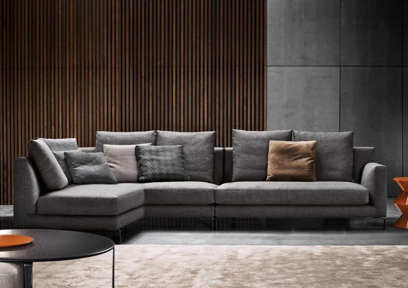 Canape Allen Minotti Living Room Design Modern Sofa Furniture Sofa Design Living room sofa furniture