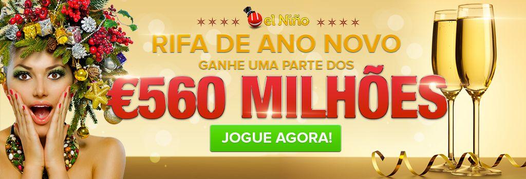 GrandesLoterias.com - jogue na rifa de Ano Novo espanhola, a El niño! Serão 560 milhões de euros no dia 06 de janeiro. As melhores #loterias do mundo aqui!