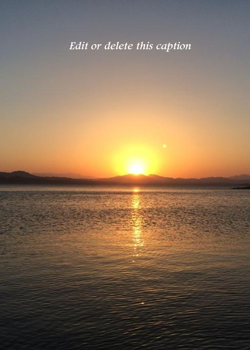 Lake Mead Beautiful Sunsets These Are All Real Cards Not E Cards