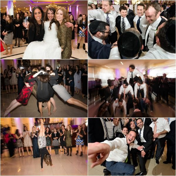 Conservative Jewish Wedding With Seperate Dancing Mechitza
