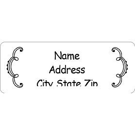 Free Avery Templates Martha Whimsical Wedding Border Address Label 30 Per Sheet