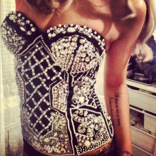studded corset style <3