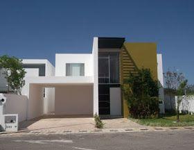 Fachadas minimalistas fachada minimalista tipo d en for Casa minimalista residencial