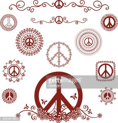 tattoo peace signs google search pinteres. Black Bedroom Furniture Sets. Home Design Ideas