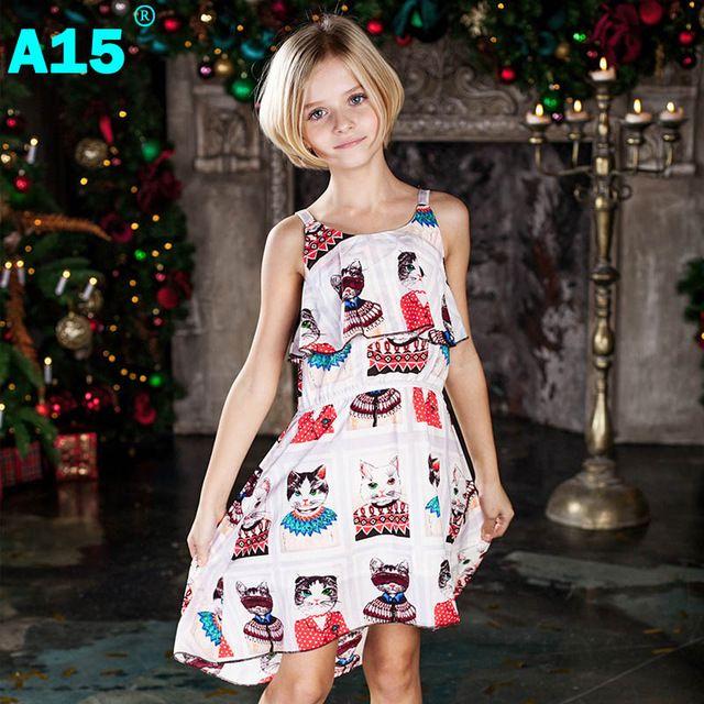Girls summer dresses 6-7