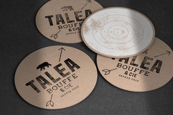 Branding - Talea by Jeremy Hall, via Behance