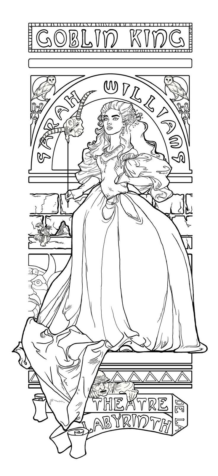 Google Searchqlabyrinth Coloring Pages