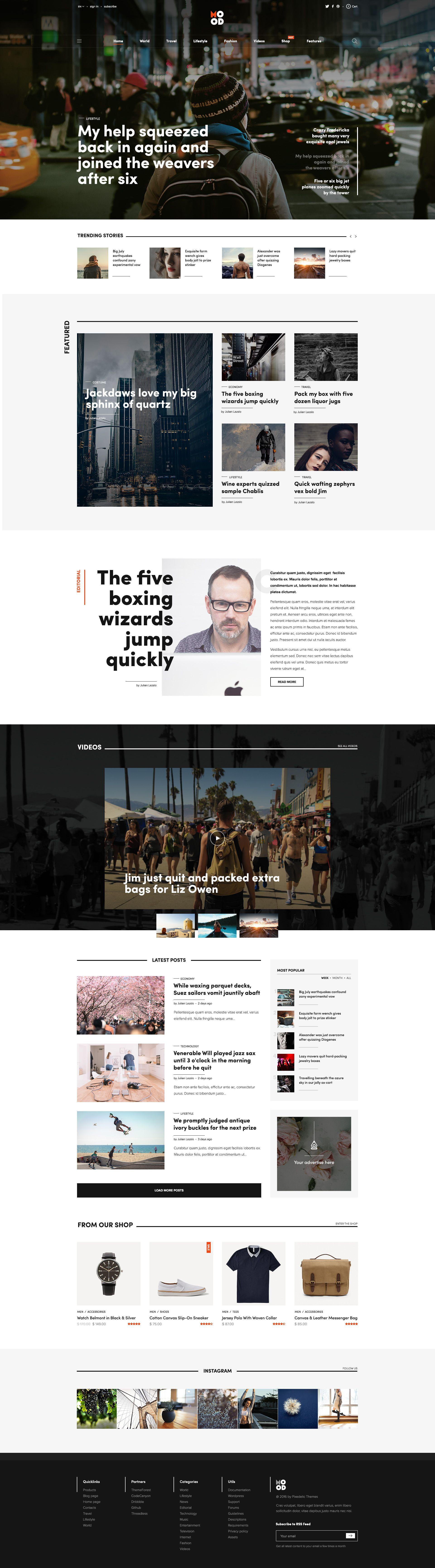 Mood Preview Jpg By Manuel Masia Pixedelic News Web Design Web Layout Design Mobile Web Design