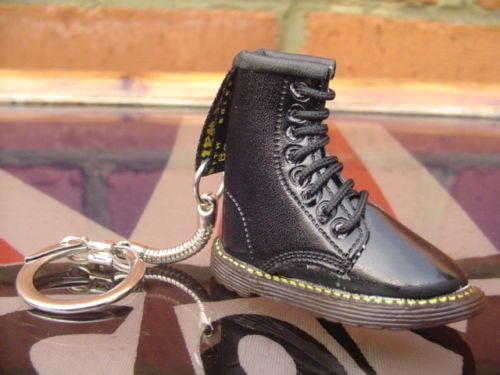 Rare Dr Martens boot keyring Super-cute and ultra-detailing.Skinhead Martins NEW
