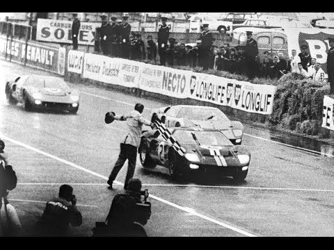 Watch The Bittersweet Story Behind The Ford Gt40 S 1966 Le Mans Photo Finish Sports Illustrated Ford Gt40 Ford Gt Le Mans