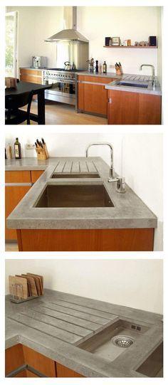 Beton Cire für Wände, Böden, Treppen, Arbeitsplatten beton - küchenarbeitsplatten online kaufen