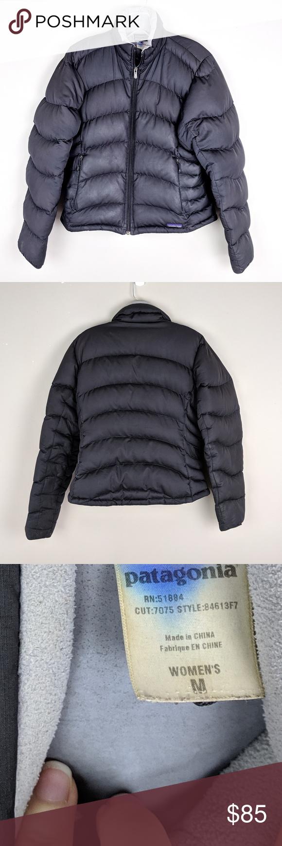 Patagonia Black Puffer Jacket A9 Black Puffer Jacket Black Puffer Jackets [ 1740 x 580 Pixel ]