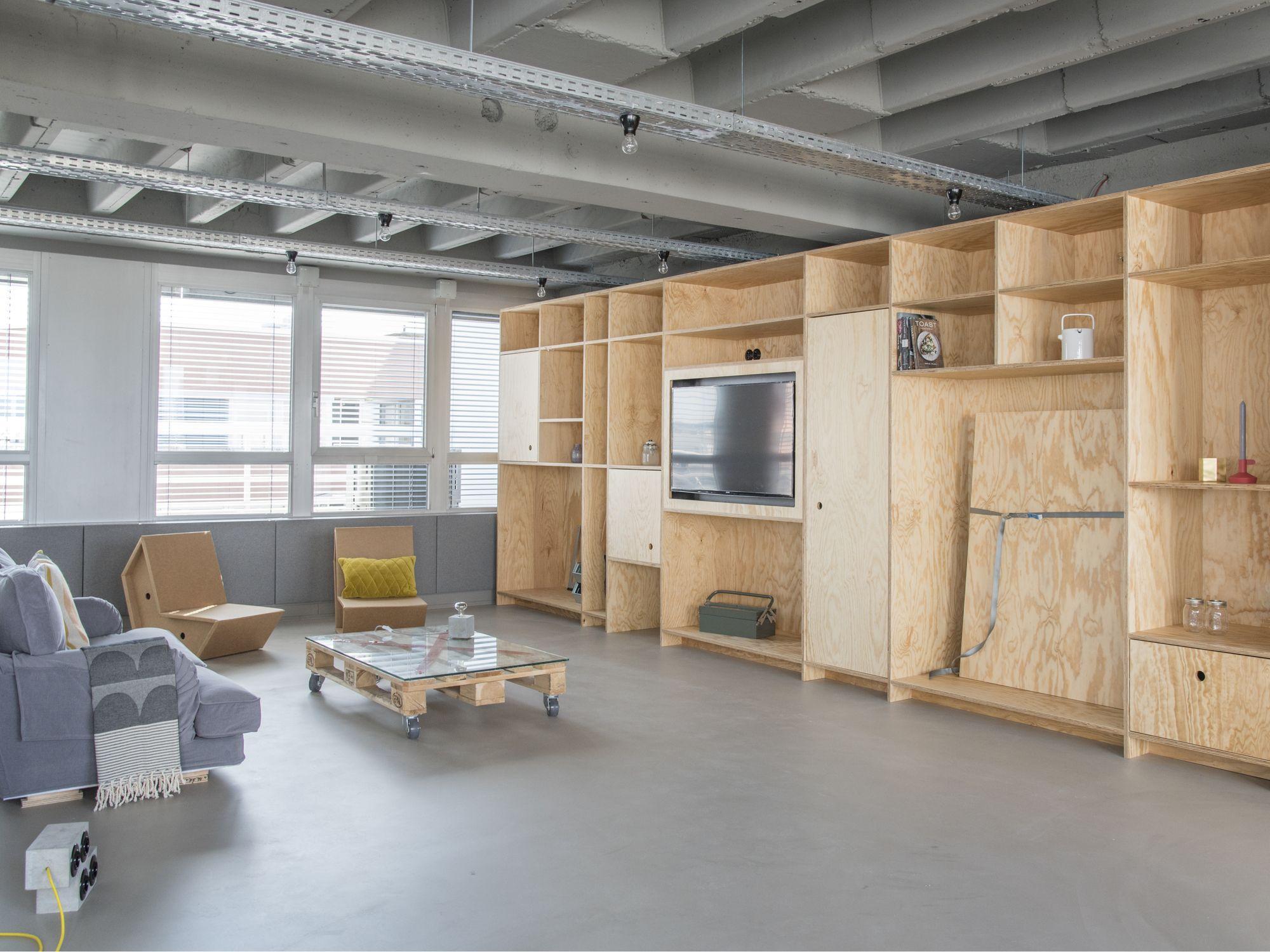 Gallery Of Outofoffice Frankfurt Von M 1 Interior Design
