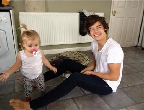 baby Hazza and baby Lux, they are so cute!