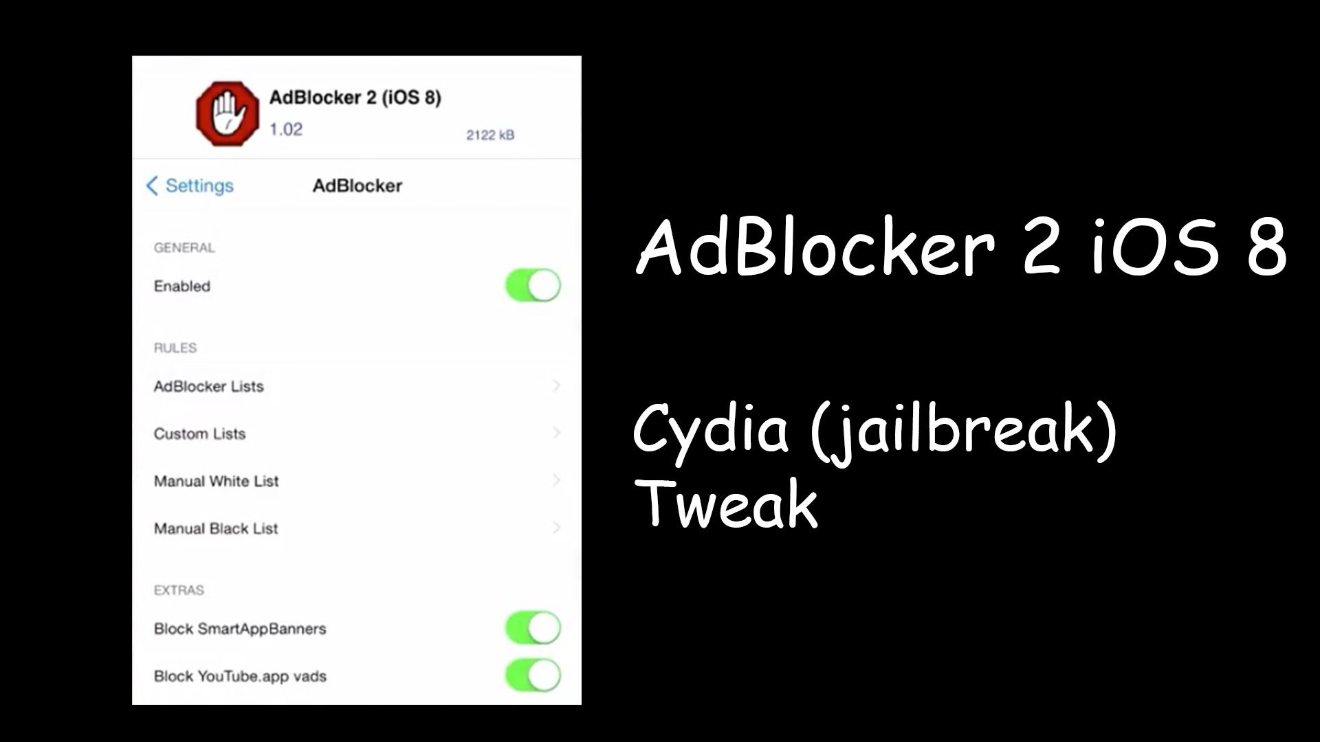 AdBlocker 2: Block image based ads in Safari and other apps