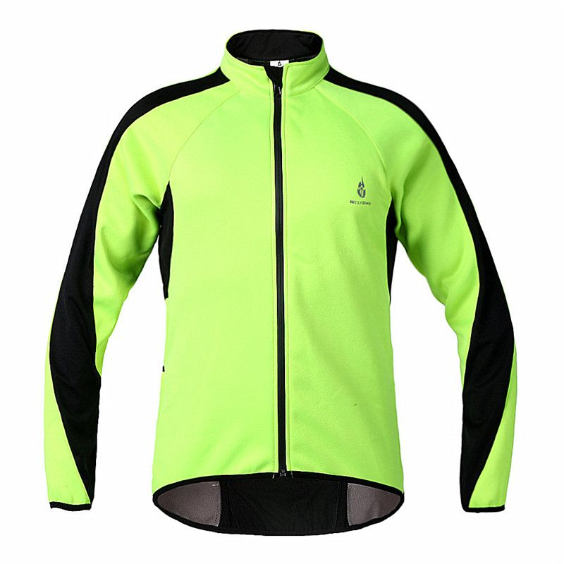 e8eaa3ac9 WOLFBIKE Fleece Thermal Cycling Long Sleeve Jersey Winter roupas de  ciclismo Jacket Windproof Wind Coat Bicycle