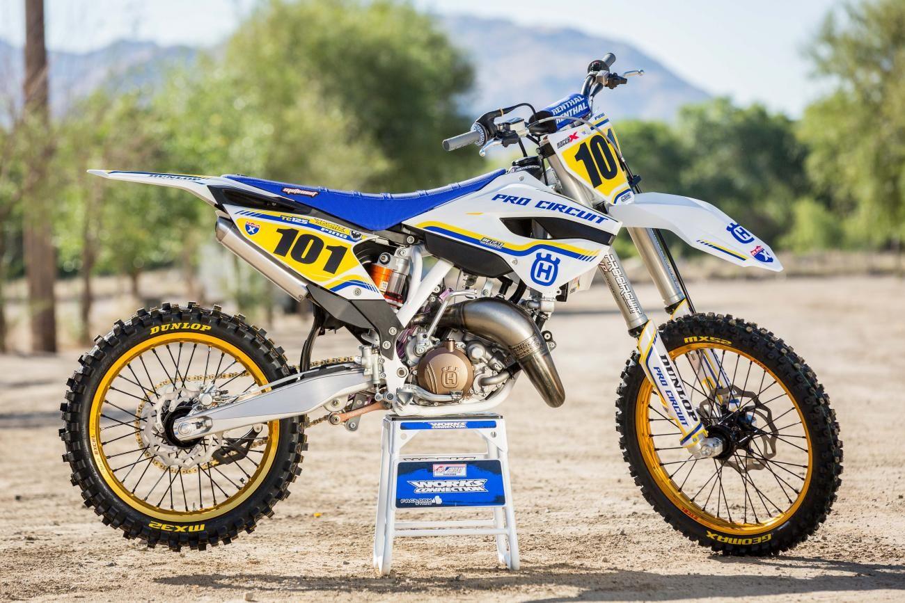 Pro Circuit/Husqvarna TC125 | 2Wheels - Dirt! | Mx bikes