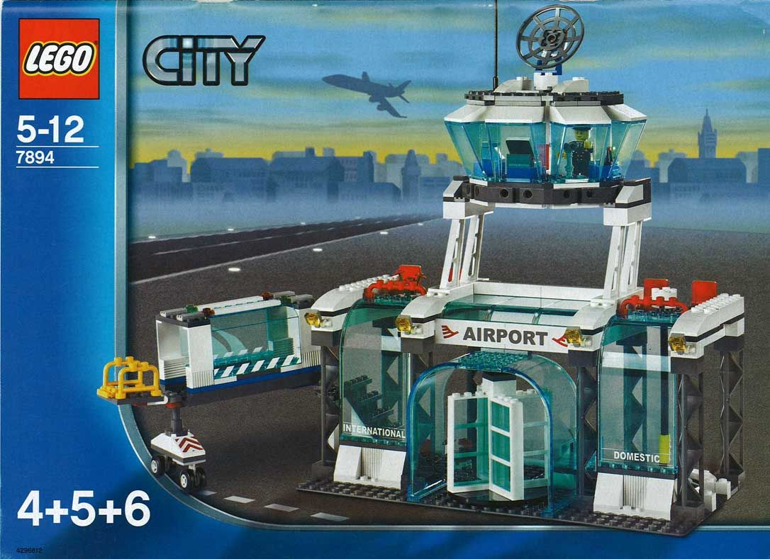 City Airport Lego 7894 Lego Sets Of Epicness Pinterest
