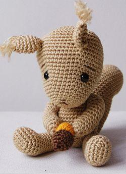 Pepika Amigurumi Squirrel Pattern Crochet Turtle Pattern