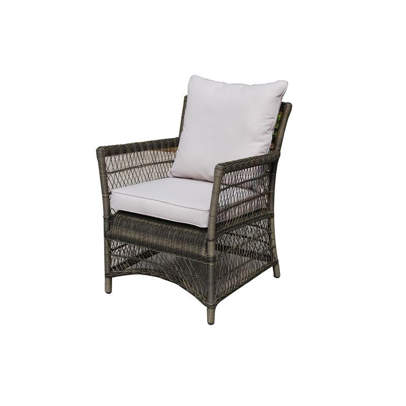 Mimosa Kubo Resin Wicker Dining Chair bunnings $200 | Outdoor decor ...