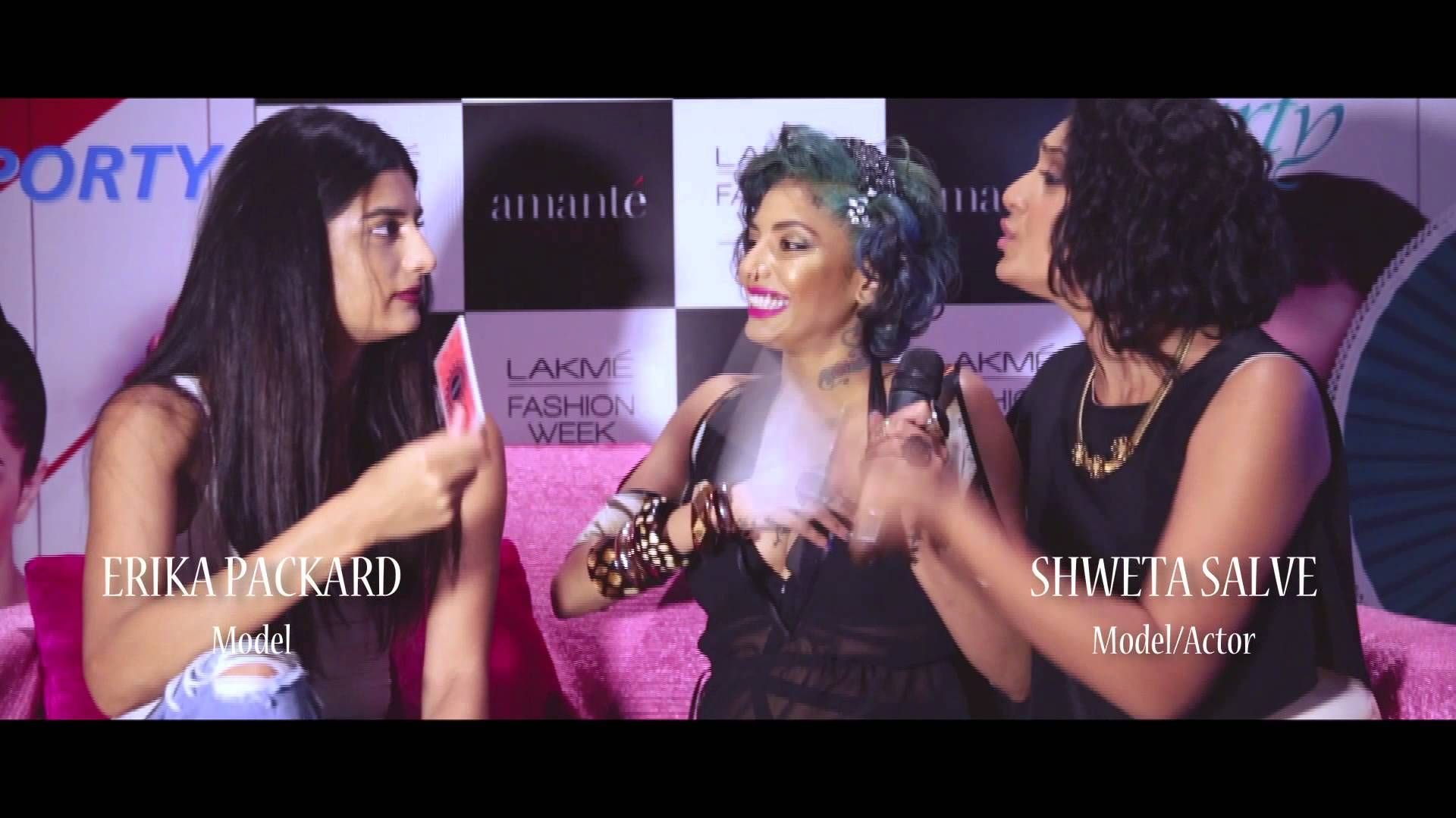 The hotness quotient just got higher because the official aftermovie of #amantéLFW is here. Checkout some of the most exciting #PinkCouch moments with Diandra Soares and Manasi Scott.