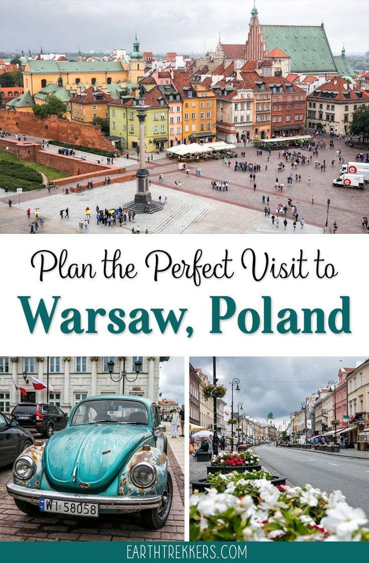 Warsaw Poland Travel Guide: best things to do, where to eat, where to stay, and tips to have the best experience. #poland #warsaw #travelguide #europe
